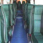 Interiores de autobuses de lujo